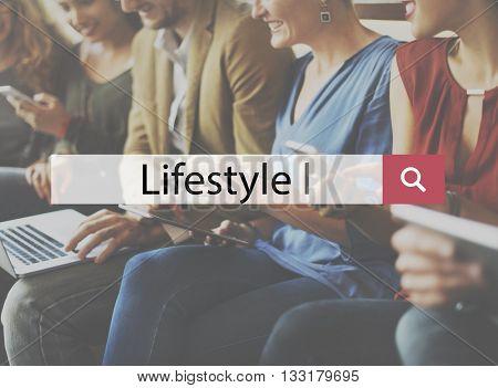 Lifestyle Culture Habits Situation Behaviour Concept