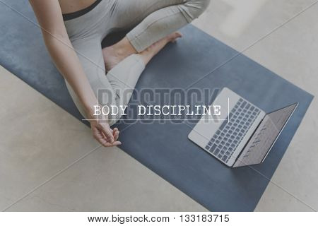Body Soul Mind Discipline Strength Concept