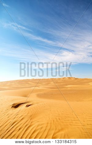 In Oman Old    And Outdoor  Sand Dune
