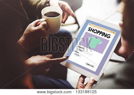 Shopping Marketing Purchase Shopaholic Spending Concept