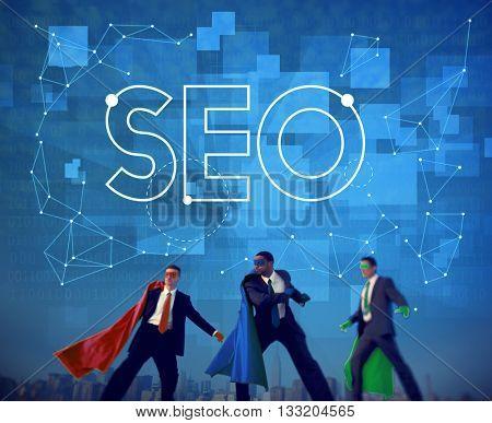 Search Internet Data SEO Browsing Concept