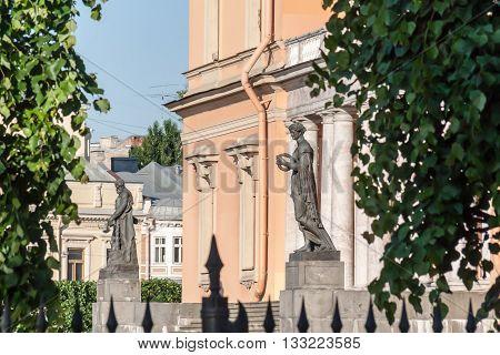 Russia. Saint Petersburg. Engineering Castle