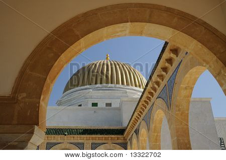 Golden dome and arches