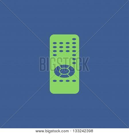 remote control icon. Flat design style eps 10
