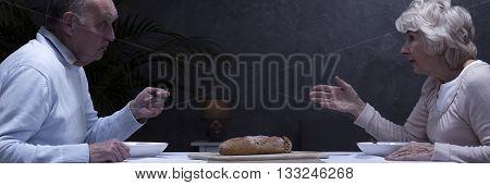 Argument During Dinner
