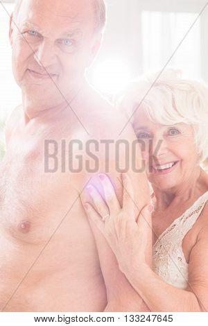 Beautiful Mature Couple In Love