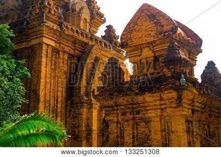 The Temple Complex Po Nagar, Ponagar Cham Tower. Nha Trang.vietnam