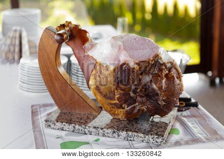 Cooked Ham on the bone