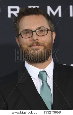 LOS ANGELES - JUN 6:  Duncan Jones at the Warcraft Global Premiere at TCL Chinese Theater IMAX on June 6, 2016 in Los Angeles, CA