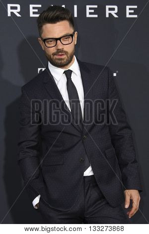LOS ANGELES - JUN 6:  Dominic Cooper at the Warcraft Global Premiere at TCL Chinese Theater IMAX on June 6, 2016 in Los Angeles, CA