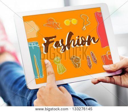 Fashion Designer Fashionable Clothing Clothes Concept