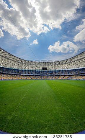 Kiev, Ukraine, June 4, 2016. NSC Olimpiyskiy main sport arena of Kiev