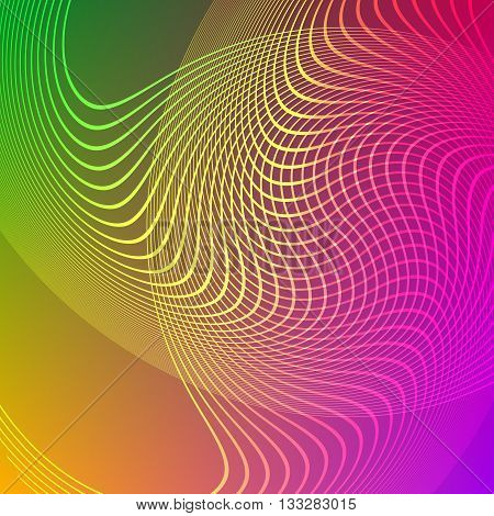 Abstract Graphic Design Background Light Blur Lines10