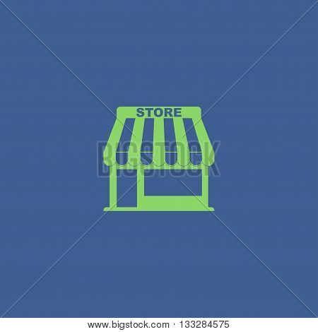 Store Icon. Vector Concept Illustration For Design