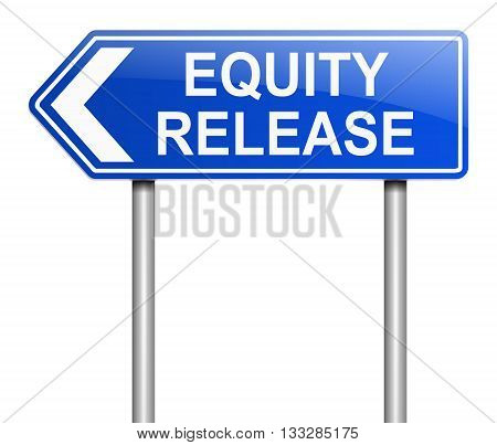 Equity Release Concept.