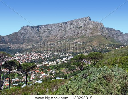 View Of Table Mountain Cape Town South Africa 39