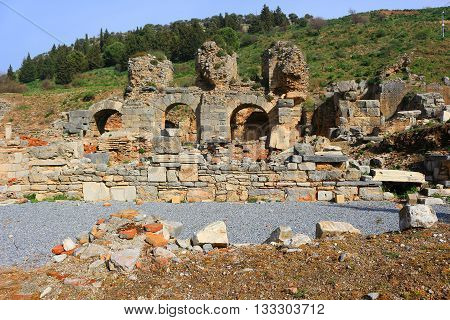 Ruins In Ephesus, Turkey