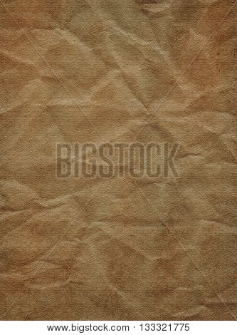 Paper texture background - brown paper sheet