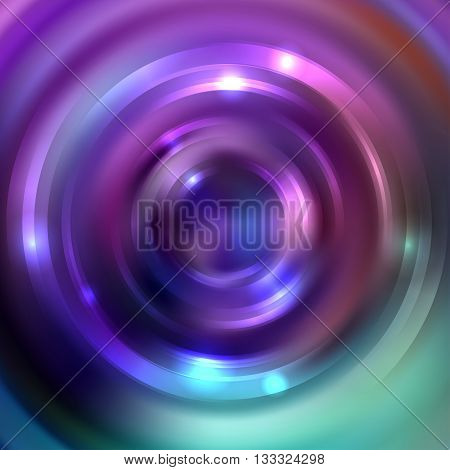 Abstract Background With Luminous Swirling Backdrop. Shiny Swirl Background. Intersection Curves. Pi