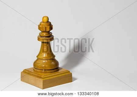 Chess Queen product photo for advertising purpose