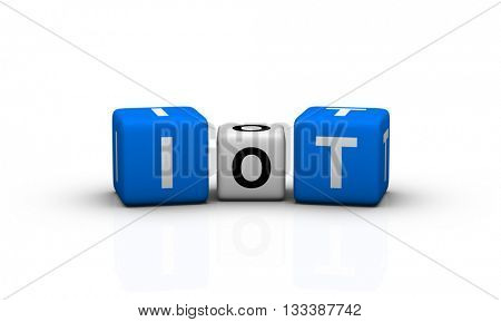 Internet Of Things IOT 3d illustration