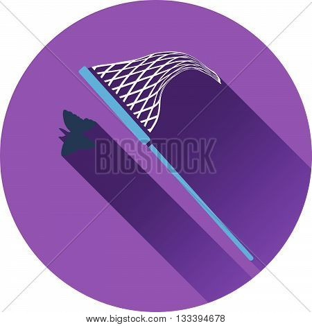 Icon Of Butterfly Net