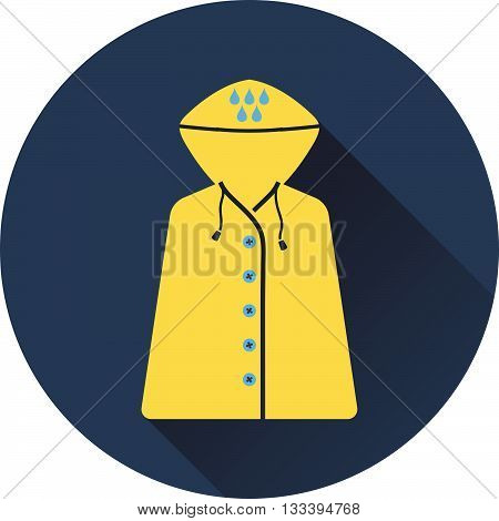 Icon Of Raincoat