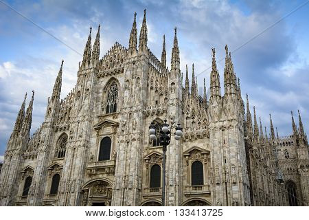 Milan cathedral the gothic masterpiece in Lombardy