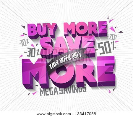 Sale concept vector banner with abstract triangle elements. sale layout design. Vector illustration