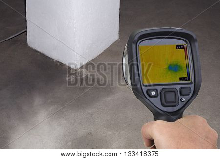 Chimney Thermal Camera Leak Investigation