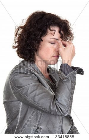 Woman With A Headache : Depression, Pain, Migraine