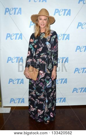 LOS ANGELES - JUN 7:  Kelly Lynch at the Peta Celebrates Prince on his Birthday at the Peta's Bob Barker Building on June 7, 2016 in Los Angeles, CA