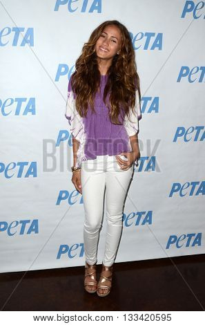 LOS ANGELES - JUN 7:  Skylar Stecker at the Peta Celebrates Prince on his Birthday at the Peta's Bob Barker Building on June 7, 2016 in Los Angeles, CA
