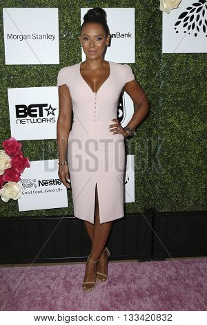 LOS ANGELES - JUN 4:  Mel B, Mel Brown at the Girl Flu Premiere at the Arclight Theater on June 4, 2016 in Culver City, CA