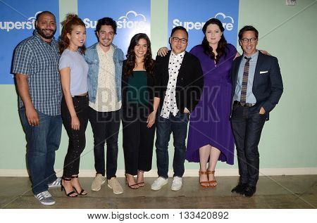 LOS ANGELES - JUN 7:  Superstore Cast at the FYC Panel For Superstore at the UCB Theater on June 7, 2016 in Los Angeles, CA