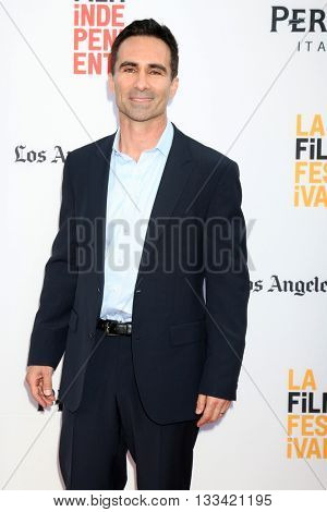 LOS ANGELES - JUN 7:  Nestor Carbonell at the 2016 Los Angeles Film Festival - The Conjuring 2 Premiere at TCL Chinese Theater IMAX on June 7, 2016 in Los Angeles, CA