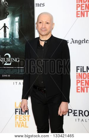 LOS ANGELES - JUN 7:  Joseph Bishara at the 2016 Los Angeles Film Festival - The Conjuring 2 Premiere at TCL Chinese Theater IMAX on June 7, 2016 in Los Angeles, CA
