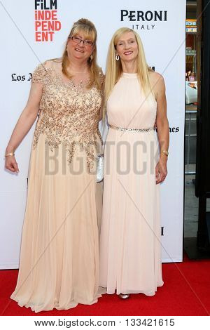 LOS ANGELES - JUN 7:  Margaret Nadeen, Janet Winter at the 2016 Los Angeles Film Festival - The Conjuring 2 Premiere at TCL Chinese Theater IMAX on June 7, 2016 in Los Angeles, CA