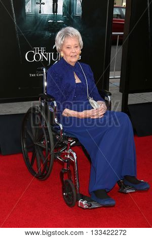 LOS ANGELES - JUN 7:  Lorraine Warren at the 2016 Los Angeles Film Festival - The Conjuring 2 Premiere at TCL Chinese Theater IMAX on June 7, 2016 in Los Angeles, CA