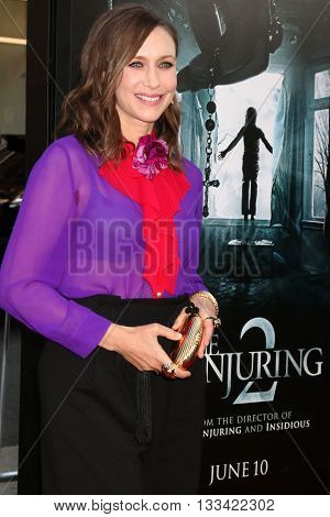 LOS ANGELES - JUN 7:  Vera Farmiga at the 2016 Los Angeles Film Festival - The Conjuring 2 Premiere at TCL Chinese Theater IMAX on June 7, 2016 in Los Angeles, CA