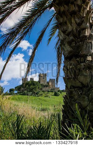 Castillo Almodovar Cordoba Spain external view of the castle