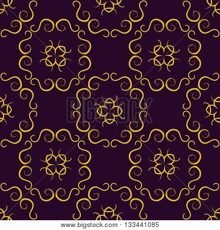 Gold Seamless pattern, Abstract Seamless pattern, Vector Seamless pattern. Repeating geometric, Seamless floral pattern.