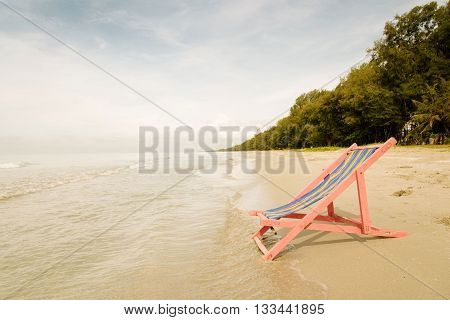 Pink Beach Chair