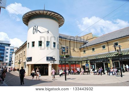HASTINGS, ENGLAND - JUNE 8, 2016: A branch of Department Store chain British Home Stores (BHS). Founded in 1928, the business which has 163 UK stores was placed in Administration in April 2016.