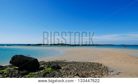 Low Tide Archipelago Of Iles De Chausey (2)