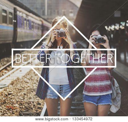 Come Together Better Togetherness Community Concept