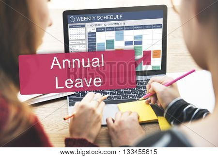 Annual Leave Holiday Leisure Recover Relax Concept
