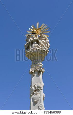 Holy Trinity Statue, Union Square, Timisoara, Romania