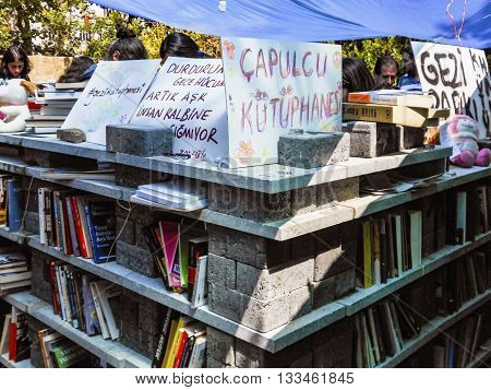 Taksim Gezi Park Protests And Events. Marauder Library Of Protesters