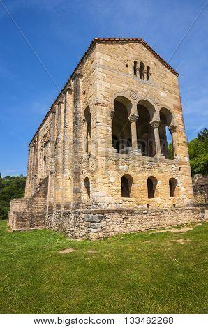 Santa María del Naranco pre-romanesque church,Oviedo, Asturias